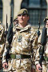 SGT. STEWART KITRIDGE Freedom Parade 3rd Battalion The Yorkshire Regiment Sheffield 23 June 2010 .Images © Paul David Drabble.