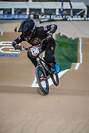 #136 (CLAESSENS Zoe) SUI at Round 1 of the 2020 UCI BMX Supercross World Cup in Shepparton, Australia