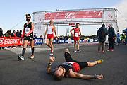 Foto Massimo Paolone/LaPresse <br /> 17 ottobre 2021 Roma, Italia <br /> sport <br /> Roma Ostia Half Marathon 2021<br /> Nella foto: durante la gara<br /> <br /> Photo Massimo Paolone/LaPresse <br /> October 17, 2021 Rome, Italy <br /> sport <br /> Roma Ostia Half Marathon 2021 <br /> In the pic: during the race