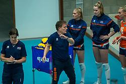 Coach Avital Selinger of Netherlands in action during the Women's friendly match between Belgium and Netherlands at Topsporthal Beveren on may 09, 2021 in Beveren, Belgium (Photo by RHF Agency/Ronald Hoogendoorn)