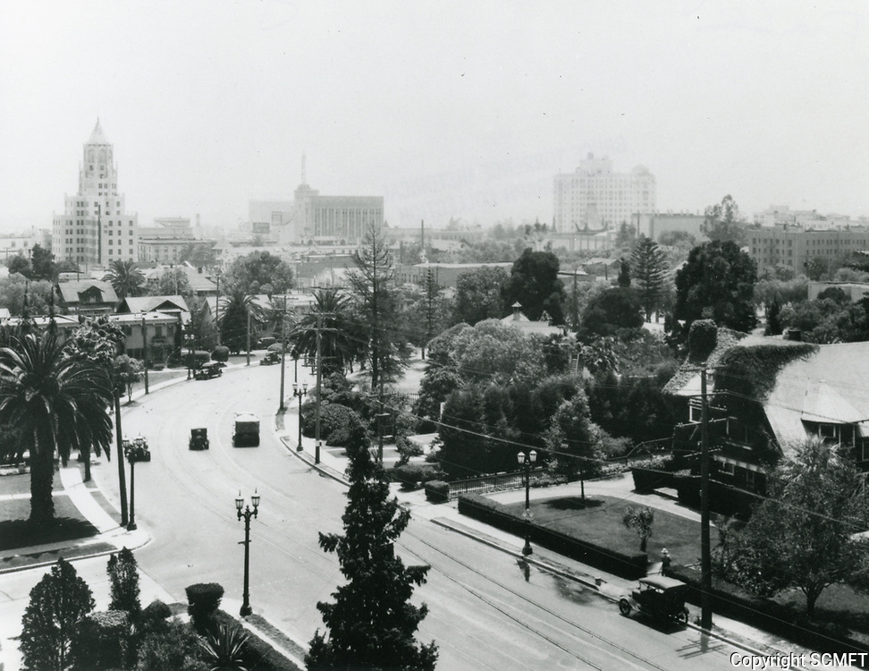 1931 Looking south on Highland Ave. towards Franklin Ave.