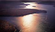 Aerial Photograph, Lake Wallenpaupack Pennsylvania