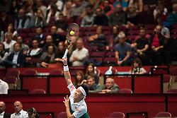 25.10.2018, Wiener Stadthalle, Wien, AUT, ATP Tour, Erste Bank Open, im Bild Kei Nishikori (JPN) // Kei Nishikori of Japan during the Erste Bank Open of ATP Tour at the Wiener Stadthalle in Wien, Austria on 2018/10/25. EXPA Pictures © 2018, PhotoCredit: EXPA/ Michael Gruber