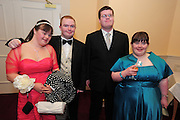 Laura Murray Loughrey, Michael Mullins, Ballinasloe, Joe Ward Tuam, Lorraine Hession Claregalway at the  Ability West,  second annual Best Buddies ball, 2010 in the Galway Bay Hotel, Salthill Galway. Photo:Andrew Downes.