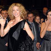 ITA/Rome/20061117 - Huwelijk Tom Cruise en Katie Holmes, Catherine Bell en Jenna Alfmann arriveren bij het hotel