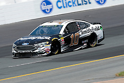 July 21, 2018 - Loudon, NH, U.S. - LOUDON, NH - JULY 21: Aric Almirola, Monster Energy NASCAR Cup Series driver of the Smithfield Ford (10), during practice for the Foxwoods Resort Casino 301 on July 21, 2018, at New Hampshire Motor Speedway in Loudon, New Hampshire. (Photo by Fred Kfoury III/Icon Sportswire) (Credit Image: © Fred Kfoury Iii/Icon SMI via ZUMA Press)