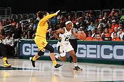 2018 Miami Hurricanes Women's Basketball vs Maryland