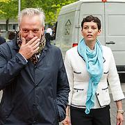 NLD/Amsterdam/20150522 - Prinses Beatrix opent Art Zuid 2015, Frank Wisse en .............