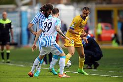 """Foto Filippo Rubin<br /> 26/03/2017 Ferrara (Italia)<br /> Sport Calcio<br /> Spal vs Frosinone - Campionato di calcio Serie B ConTe.it 2016/2017 - Stadio """"Paolo Mazza""""<br /> Nella foto: ANTONIO MAZZOTTA<br /> <br /> Photo Filippo Rubin<br /> March 26, 2017 Ferrara (Italy)<br /> Sport Soccer<br /> Spal vs Frosinone - Italian Football Championship League B ConTe.it 2016/2017 - """"Paolo Mazza"""" Stadium <br /> In the pic: ANTONIO MAZZOTTA"""