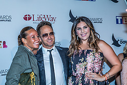 October 11, 2016 - Nashville, Tennessee, USA - TobyMac, Amanda Levy McKeehan and Hillary Scott at the 47th Annual GMA Dove Awards  in Nashville, TN at Allen Arena on the campus of Lipscomb University.  The GMA Dove Awards is an awards show produced by the Gospel Music Association. (Credit Image: © Jason Walle via ZUMA Wire)