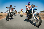Cheesy rider feature.. chopped c90's to faro
