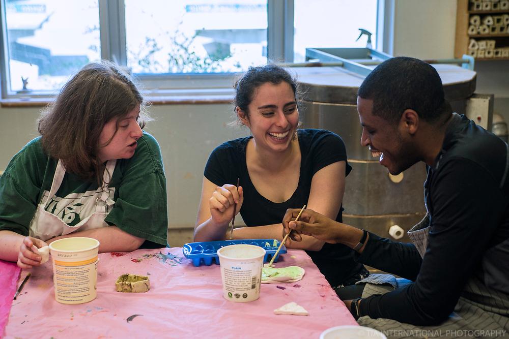 Pottery Class, Ballard Community Center