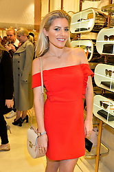 LONDON, ENGLAND 1 DECEMBER 2016: Mollie King at the launch of the new Folli Follie store at 124 Regent Street, London, England. 1 December 2016.