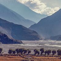Kali Gandaki Valley, Nepal.