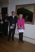 HE the Dutch Ambassadorl and  MaryAnne Stevens:  Jacob van RuisdaeMasters of Landscape. 21 February 2006. ONE TIME USE ONLY - DO NOT ARCHIVE  © Copyright Photograph by Dafydd Jones 66 Stockwell Park Rd. London SW9 0DA Tel 020 7733 0108 www.dafjones.com