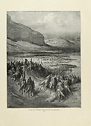 The Battle of Antioch Plate XVIII from the book Story of the crusades. with a magnificent gallery of one hundred full-page engravings by the world-renowned artist, Gustave Doré [Gustave Dore] by Boyd, James P. (James Penny), 1836-1910. Published in Philadelphia 1892