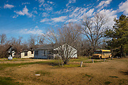 Abandoned home on 28th February 2020 in Wisner, Mississippi, United States.