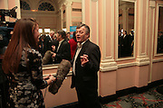 Tony Blackburn, Oldie of the Year Awards. Simpsons-in-the-Strand. London. 13 March 2007.  -DO NOT ARCHIVE-© Copyright Photograph by Dafydd Jones. 248 Clapham Rd. London SW9 0PZ. Tel 0207 820 0771. www.dafjones.com.
