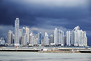 Panama City Modern high rises