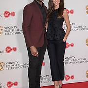 Ore Oduba and Michelle Keegan attend the Virgin TV BAFTA TV Nominations Press Conference, London, UK - 04 April 2018 at BAFTA, Piccadilly, London, UK.