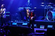 Depeche Mode during the Telekom Street Gig in Berlin, 17.03.2017<br /> Martin Gore (l.) and Dave Gahan<br /> © Torsten Helmke