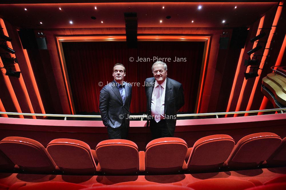 Nederland, Amsterdam , 22 november 2010..Nieuwe de la Mar Directeuren Fons Bruins (r) en Edwin van Balken..Foto:Jean-Pierre Jans