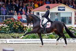 Skodborg Merrald Nanna, DEN, Atterupgaards Orthilia<br /> European Championship Dressage - Hagen 2021<br /> © Hippo Foto - Dirk Caremans<br /> 11/09/2021