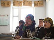 At the school. In Roshorv village.