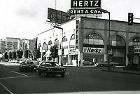 1971 NW corner of Hollywood Blvd. & Orange Dr.
