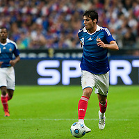 05 September 2009: French forward Yoann Gourcuff controls the ball during the World Cup 2010 qualifying football match France vs. Romania (1-1), on September 5, 2009 at the Stade de France stadium in Saint-Denis, near Paris, France.