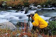 Photographer on Rock Creek