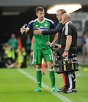 2016.06.04 Trnava, Slowacja<br /> Pilka Nozna Reprezentacja Mecz towarzyski<br /> Slowacja - Irlandia Polnocna <br /> N/z Michael Oneill, Paddy McNair<br /> Foto Rafal Rusek / PressFocus<br /> <br /> 2016.06.04 Trnava, Slovakia<br /> Football Friendly Game<br /> Slovakia - Northern Ireland<br /> Michael Oneill, Paddy McNair<br /> Credit: Rafal Rusek / PressFocus