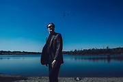 25 September 2014- Bruce Crawford is photographed at Lake Zorinsky for Omaha Magazine.
