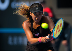 October 5, 2018 - Beijing, China - NAOMI OSAKA of Japan in action during her quarter-final match at the 2018 China Open WTA Premier Mandatory tennis tournament. (Credit Image: © AFP7 via ZUMA Wire)