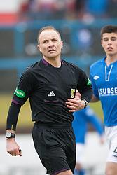 Referee George Salmond..Cowdenbeath 1 v 1 Hamilton, 9/3/2013..©Michael Schofield..