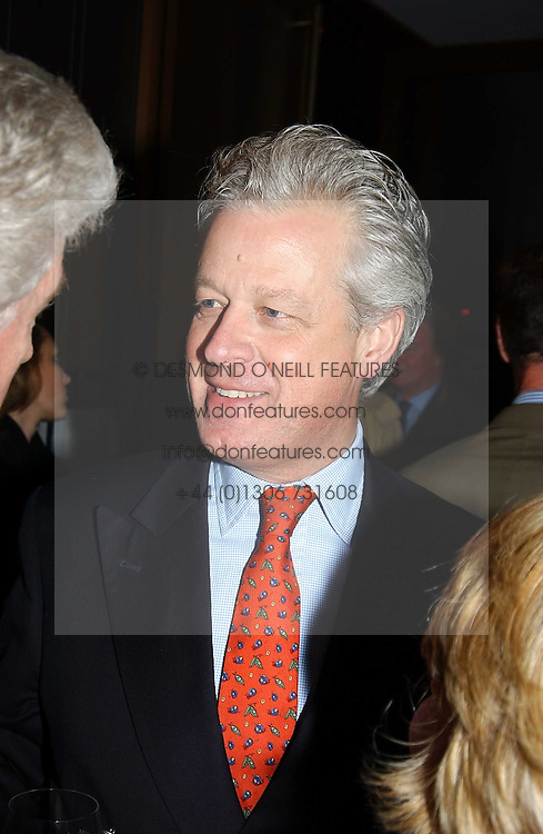 LORD KENILWORTH at a fashion show of the new fashion label Chester Bonham held at the Aston Martin Showroom, Park Lane, London on 15th November 2004.<br /><br />NON EXCLUSIVE - WORLD RIGHTS