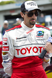 LONG BEACH, CA - APR 13: Actor Adrien Brody during practice day at the 2012 Toyota Celebrity/PRO Race in Long Beach, CA. Byline and/or web usage link must read © Eduardo E. Silva/SILVEX.PHOTOSHELTER.COM