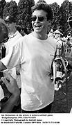Jay McInerney at the artists & writers softball game. Bridgehampton.1993. Film 93345f5<br />© Copyright Photograph by Dafydd Jones<br />66 Stockwell Park Rd. London SW9 0DA<br />Tel 0171 733 0108