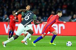 Englands Adam Lallana takes on Germanys Antonio Rudiger - Mandatory by-line: Matt McNulty/JMP - 26/03/2016 - FOOTBALL - Olympiastadion - Berlin, Germany - Germany v England - International Friendly