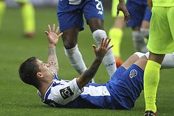 April 8, 2018 - Porto, Aveiro, Portugal - Porto's Brazilian midfielder Otavio celebrates after scoring goal during the Premier League 2017/18 match between FC Porto v CD Aves, at Dragao Stadium in Porto on April 8, 2018. (Credit Image: © Dpi/NurPhoto via ZUMA Press)