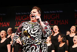 February 26, 2019 - KEALA SETTLE performing at the HUGH JACKMAN announcement of his 2019 World Tour at Museum of Contemporary Art, Sydney on February 26, 2019  (Credit Image: © Christopher Khoury/Australian Press Agency via ZUMA  Wire)