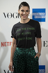 September 13, 2018 - Madrid, Spain - Irene Visedo attends to photocall of Vogue Fashion Night Out 2018 in Madrid, Spain. September 14, 2018. (Credit Image: © Coolmedia/NurPhoto/ZUMA Press)