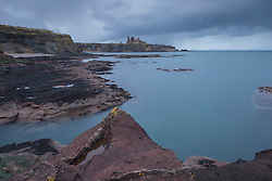 View toward Tantallon Castle from Seacliffe Beach