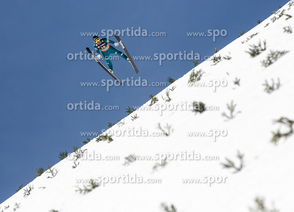 Anze Lanisek (SLO) during the Qualification round of the Ski Flying Hill Individual Competition at Day 1 of FIS Ski Jumping World Cup Final 2019, on March 21, 2019 in Planica, Slovenia. Photo by Matic Ritonja / Sportida