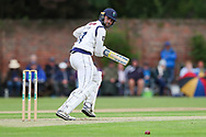Will Fraine of Yorkshire batting during the Specsavers County Champ Div 1 match between Yorkshire County Cricket Club and Warwickshire County Cricket Club at York Cricket Club, York, United Kingdom on 17 June 2019.