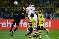Marcel Sabitzer, RB Leipzig scores 1-1 away against Borussia Dortmund, 14 Sep 2017. Signal Iduna Park. Photo: Peter Tubaas / Digitalsport