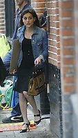 Brittany Murphy Filming Love and other Disasters London Islington