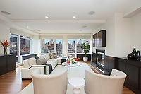 Living Room at 428 West 58th Street
