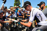 Christopher Froome (GBR - Team Sky) during the Tour de France 2018, Stage 4, Team Time Trial, La Baule - Sarzeau (195 km) on July 10th, 2018 - Photo Kei Tsuji / BettiniPhoto / ProSportsImages / DPPI