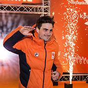 NLD/Amsterdam/20180226 - Thuiskomst TeamNL, Jan Smeekens